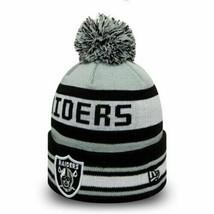 ☆ Oakland Raiders NFL Jake New Era Knitted Bobble Hat Cuff Knit WINTER 2... - $27.93