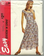 McCall's Sewing Pattern 7037 Misses Womens Dress Stitch n Save Size 10 - 16 New - $9.99