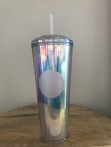 Starbucks Tumbler Iridescent 2020 Summer Limited Edition Unicorn Diamond... - $44.55