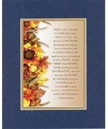 Inspirational Plaques for Thanksgiving - Make a joyful noise unto the Lo... - $11.14