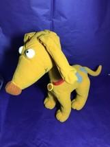"Rugrats SPIKE DOG Mattel Viacom Barks Ears Flap 14"" Tall 1997 Plush Stuf... - $9.87"