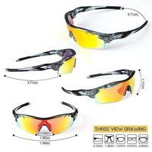 Cycling Polarized Glasses Bike Sunglasses Outdoor Bicycle Goggles Sport ... - €23,23 EUR