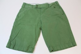 W12961 Womens OLD NAVY Green LOW WAIST Cotton Khaki CHINO Casual SHORTS ... - $11.65