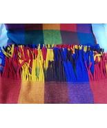 NEW Faribo Vintage Luxury Blanket Siesta Fringed Throw Plaid Wool 60 x 70 - $74.20
