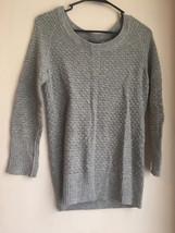 womens Gap small gray knit sweater sec823 - $12.90