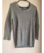 womens Gap small gray knit sweater sec823 - $12.90