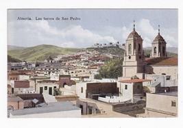 VINTAGE SPAIN POSTCARD ALMERIA-MOREDAT TO NEW YORK 1925  - $3.98