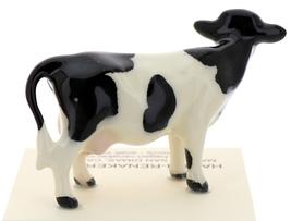 Hagen-Renaker Miniature Ceramic Cow Figurine Holstein Bull Cow and Calf Set image 9