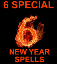 6 27x FULL COVEN START THE NEW YEAR RIGHT HIGHER WORKS MAGICK 925 WITCH - $114.00