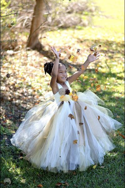 e8f501d208178 Fall Wedding Flower girl tutu, sunflower and similar items