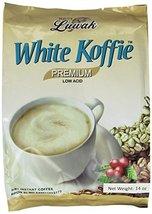 LUWAK White Koffie LOW ACID (3in1) Instant Coffee 13.5oz, Pack of 20 sac... - $18.80