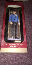 HALLMARK KEEPSAKE ORNAMENT STAR TREK DR LEONARD H MCCOY  - $9.00