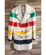 Vintage HUDSON'S BAY COAT - 4 Point Wool Blanket Coat  - $435.60