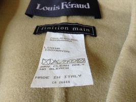 Louis Feraud Finition Main Baby Blue Blazer Jacket Made in Italy No Size Tag image 7