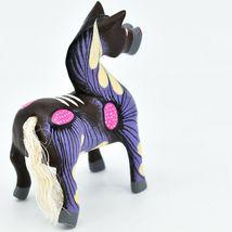Handmade Alebrijes Oaxacan Copal Wood Carving Painted Folk Art Horse Figurine image 5