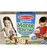 Melissa & Doug Horse Show Playset Includes Plush Horse - $29.99