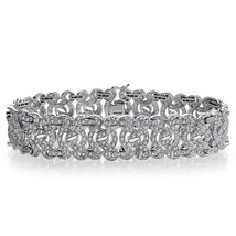 4.50 Carat G-SI1 Round Brilliant Cut Diamond Sundance Bracelet 14K White Gold - $5,395.50