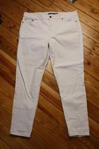 Lauren Ralph Lauren 12 Ecru Beige Slim Leg Jeans Pants - $29.45