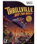Thrillville Off The Rails NINTENDO Wii Video Game - $4.97