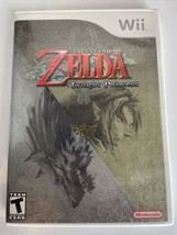 The Legend of Zelda: Twilight Princess (Nintendo Wii, 2006) CIB Complete Manual - $19.75