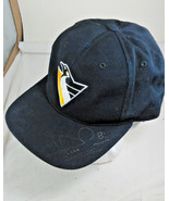 Pittsburgh Penguins autographs Hans Jonsson #8 Snapback trucker cap Mell... - $38.60