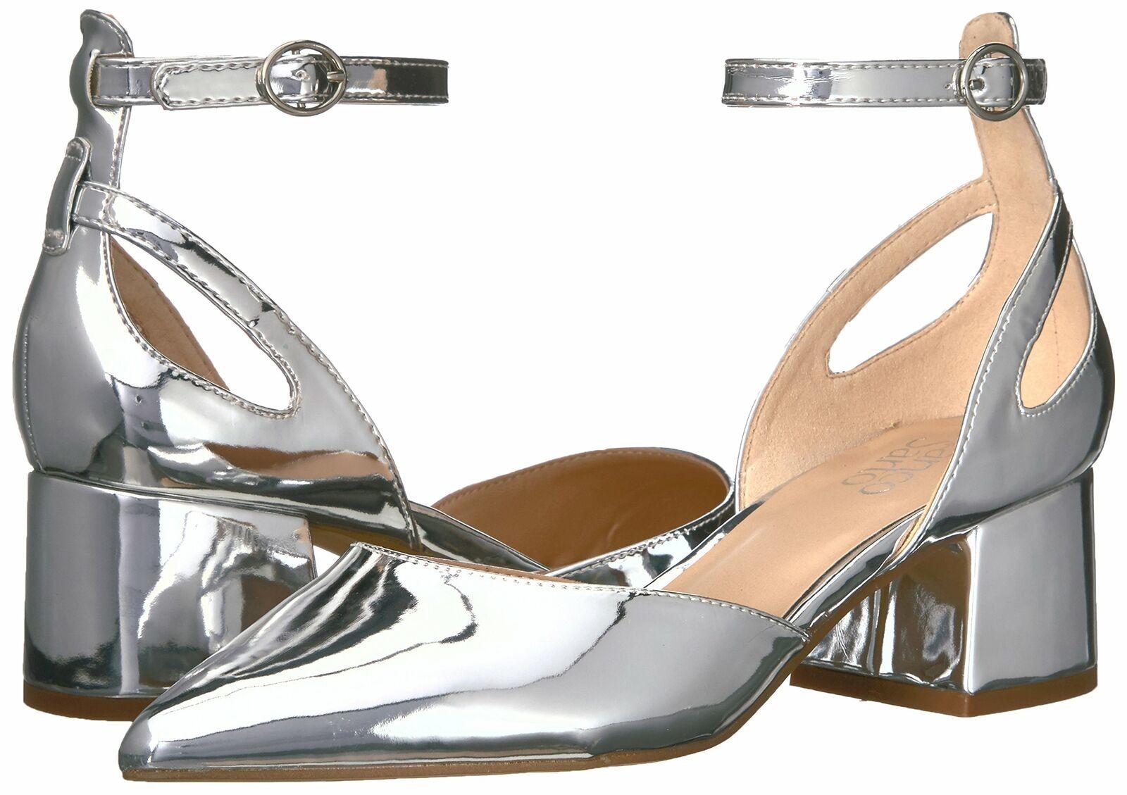 Franco Sarto Women's Caleigh Pump 6.5 Silver image 7