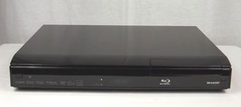 Sharp Aquos Blu-ray Disc Player 1080p 2.0 Version BD-Live BD-HP210U - No Remote - $25.00