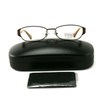 COACH 5018 9076 Eyeglasses Satin Brown 51 15 135 without case finish line - $60.80