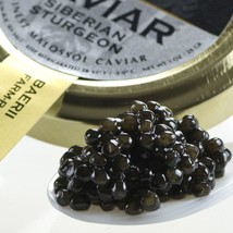 Italian Siberian Sturgeon Caviar - Malossol - 4.4 oz tin - $347.29