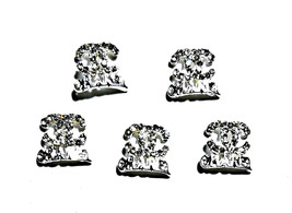 5pc Nail Art Charms 3D Nail Rhinestones Decoration Jewelry DIY Bling C50 - $4.69