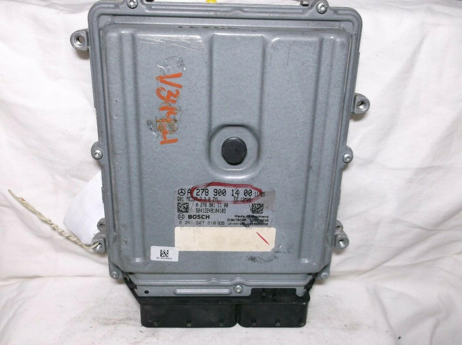 2013..13 MERCEDES-BENZ GL450/GL550/GL63/ML550/ML63/G63 /ENGINE COMPUTER/ECU.PCM - $294.53