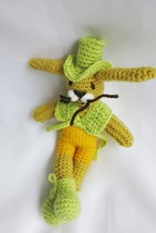 Amigurumi  handmade bunny doll toy- nursery decoration ornament - birthd... - $23.78 CAD