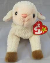 Ty Beanie Baby Ewey the Lamb Gasport Tag Error USED - $6.92