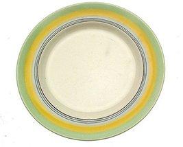 bridgwood Sampson Green and Yellow c1930 10.25 Inch Plate - $19.10