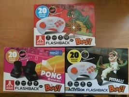 New Atari & Activision Flashback Blast Pitfall, Pong or Centipede Wireless Games - $28.00