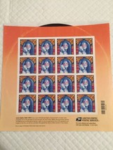 2014 JANIS JOPLIN MNH Sheet of 16 Forever Stamps Sent with - $17.77