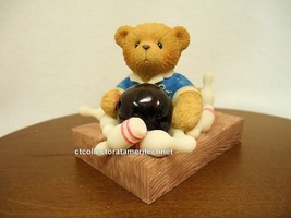 Cherished Teddies Bryce Sports & Hobbies Collection NIB - $28.45