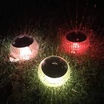 Pool Lights Solar Powered Led Floating Ball Light Outdoor Garden Swimmin... - $30.37+
