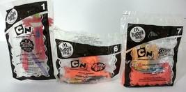 3 McDonald's Cartoon Network Sealed Toys From 2007- Wilt-Rodney-Raj - $6.00