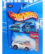 Hot Wheels 2004 First Editions #71 'Tooned Camaro Z28 1969 Kmart White w... - $10.00