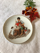 Norman Rockwell Plate A Dollhouse For Sis Collectible Dish 1984 Vintage ... - $33.50