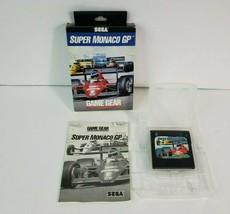 Super Monaco GP (Sega Game Gear, 1992) Complete in Box - Game, Manual, Box - $34.64
