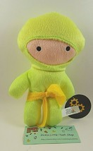 "Yellow Ninja Toy Works 8.5"" Stuffed Animal Soft Plush Doll Cute Gift Kar... - $9.89"