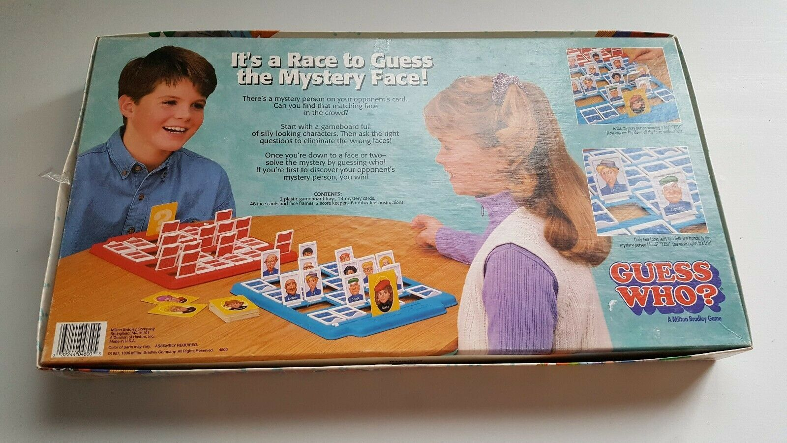 1996 Guess Who? Milton Bradley The Mystery and 38 similar items