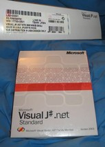 Microsoft Visual J# .NET 2003 Standard Edition NEW NIB - $49.49