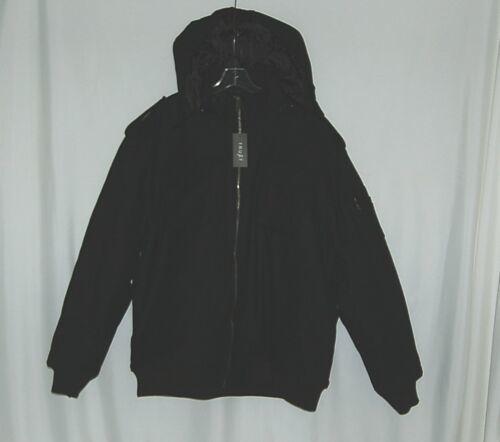 Trust Brand WB170J Wool Nylon 4XL Black Coat Zippered Hooded