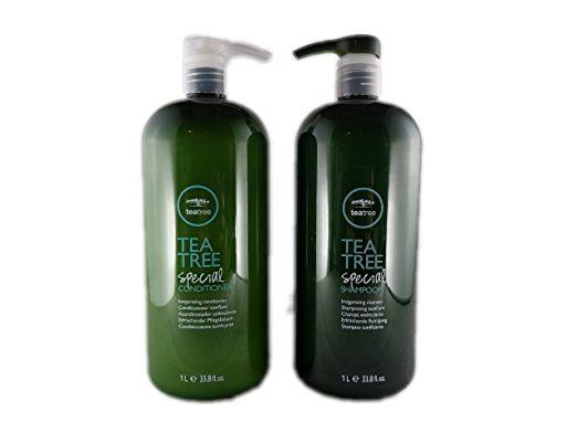 Paul Mitchell Tea Tree Special Shampoo & Conditioner Liters 33.8 oz Duo