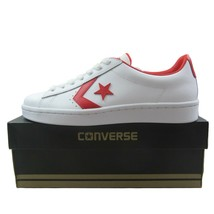Converse PL 76 Ox Shoes Size 9 Mens Red White Classic 157423C New - $54.44