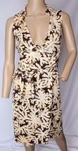Diane Von Furstenberg St Jude Coral Reef Jersey Silk Wrap Dress XS 0 - $113.99