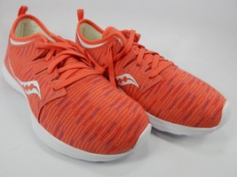 Saucony Eros Lace Women's Running Shoes Size US 7 M (B) EU 38 Coral S30002-7